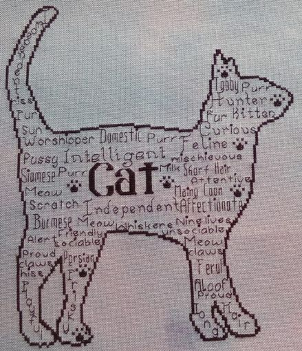 Cat In Words